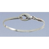 RALGLC4MBSS Lobster Claw Bangle