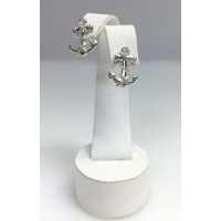RA4027PERS Sterling Silver Medium Anchor Post Earrings