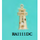 RA1111DC Lighthouse Charm with 5 Points of Diamonds