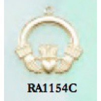 RA1154C Small Claddagh Charm
