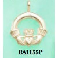 RA1155P Medium Claddagh Pendant