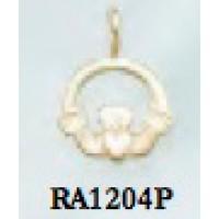 RA1204P Tiny Claddagh Pendant
