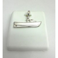 RA7078PS Sterling Silver Lobster Boat Charm