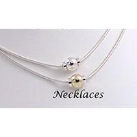 MS162916 Beach Single Ball Beach Necklace