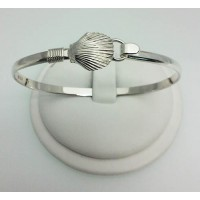 RA80184MB Medium Scallop Shell Bangle