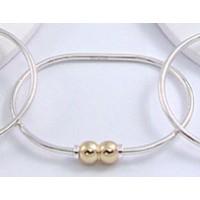 MS1629DBL Double Ball Beach Bracelet